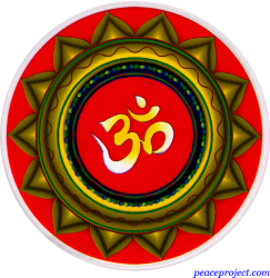 Om Mandala - Window Decal