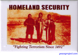 Homeland Security - Rectangular Magnet