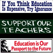 Education & Teachers